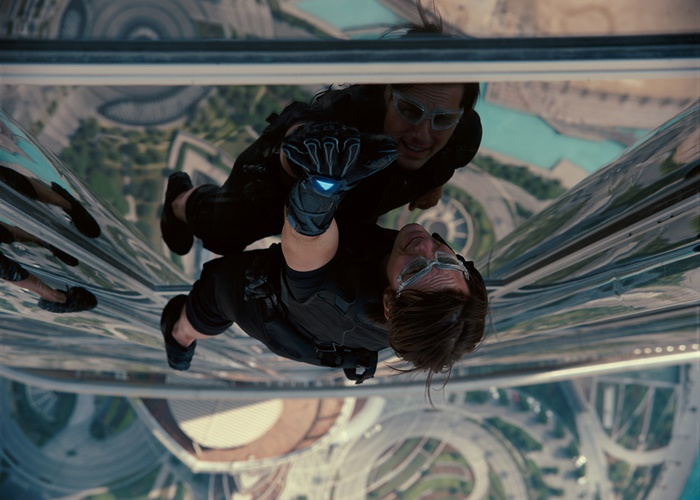 Tom Cruise plays Ethan Hunt in MISSION: IMPOSSIBLE  EGHOST PROTOCOL, from Paramount Pictures and Skydance Productions.