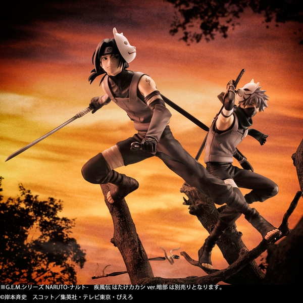 Naruto S Itachi Uchiha Is Now A 1 8th Scale Figure In His Anbu